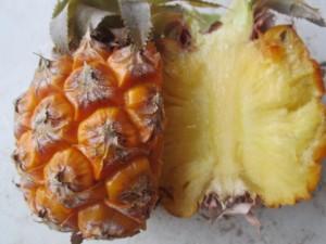 účinky ananásu