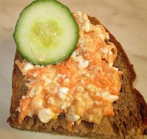 mrkvový chlebík
