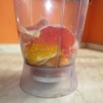 Rýchle smoothie z grepu a pomaranča