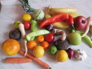 ovocno zeleninová diéta