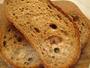 upečený chlebík