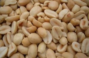 arašidy v bielkoviny