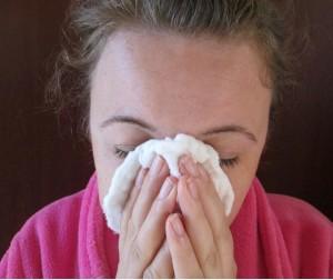 pomoc na upchatý nos