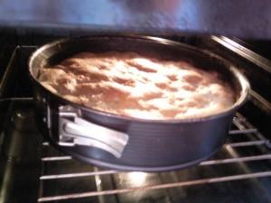 pečenie bio koláča