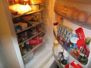 skladovanie potravín v chladničke