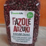 Zdravá adzuki fazuľa