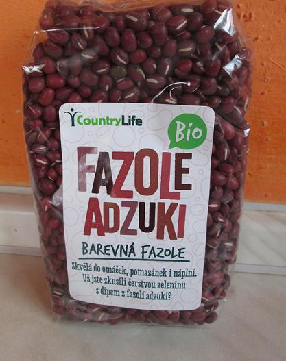 bio adzuki fazuľa biostrava