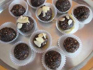 raw recept sladké guličky biostrava