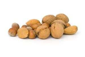 orechy su zdrave, výživa pre vlasy