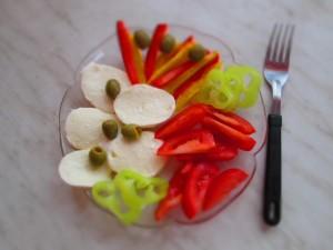 takto vypadajú moje raňajky ktoré zbožňujem :-)