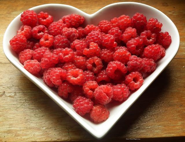 maliny pre zdravie a krasu