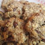 Zdravé cookies sušienky s čokoládou bez cukru a múky