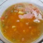 Cícerová zeleninová polievka – recept