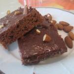 Čokoládový koláčik zo špaldovej múky – recept